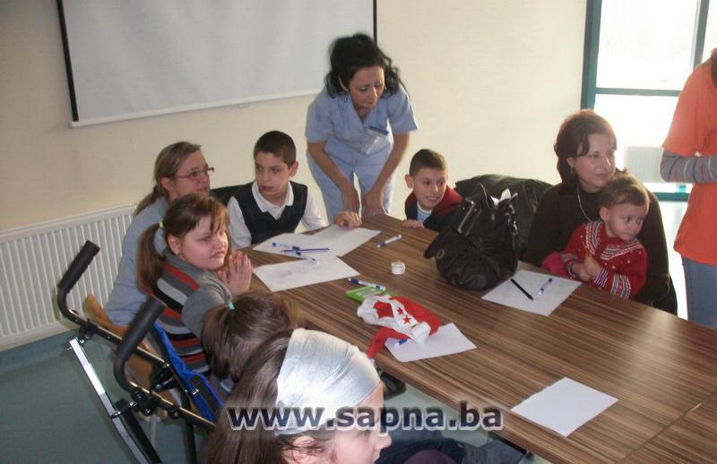 Pregedate slike iz članka: Humanost učenika MSŠ Sapna