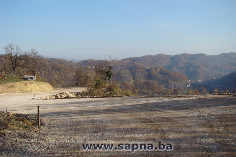 Pregedate slike iz članka: Radovi na putu Sapna - Goduš