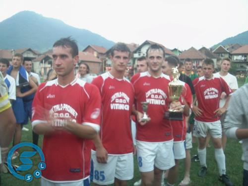 Pregedate slike iz članka: OFK Vitinica osvojila turnir na Diviču