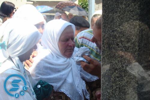 Pregedate slike iz članka: U Sapni otkrivena spomen-ploča stradalima