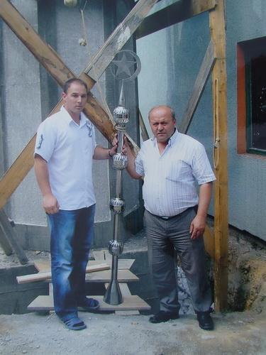 Pregedate slike iz ?lanka: Izgradnja munare u �arcima
