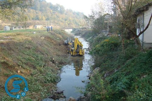 Pregedate slike iz članka: Počela 2. faza sanacije riječnog korita