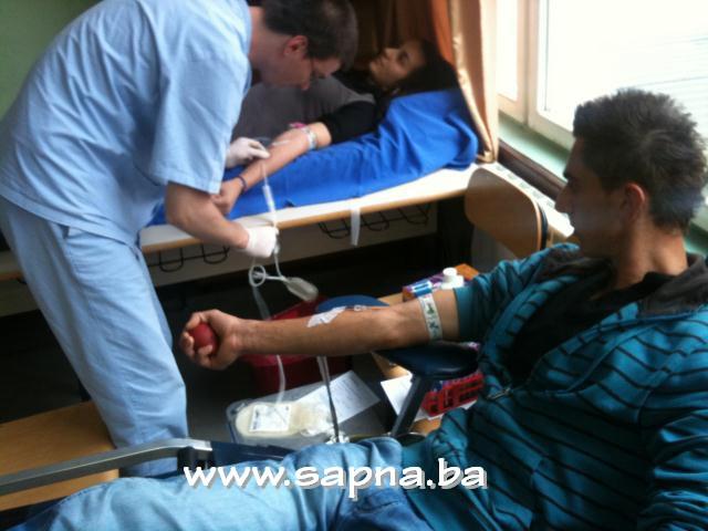 Pregedate slike iz članka: Darivanje krvi