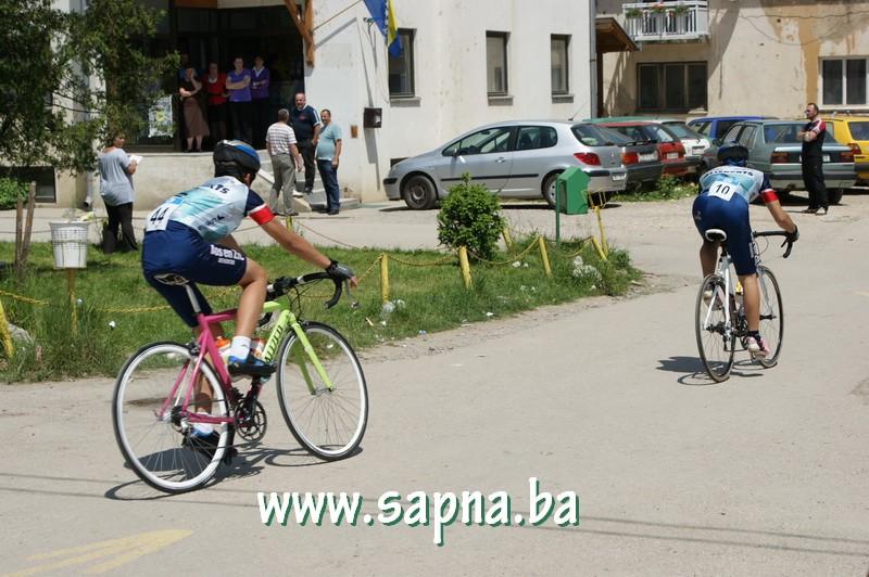 Pregedate slike iz članka: Biciklistička trka