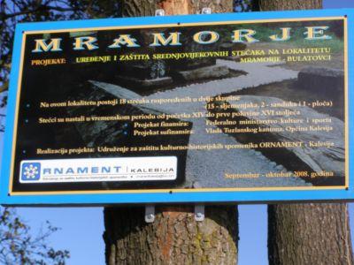 Pregedate slike iz članka: Kalesija: Otvoren lokalitet stećaka Mramorje